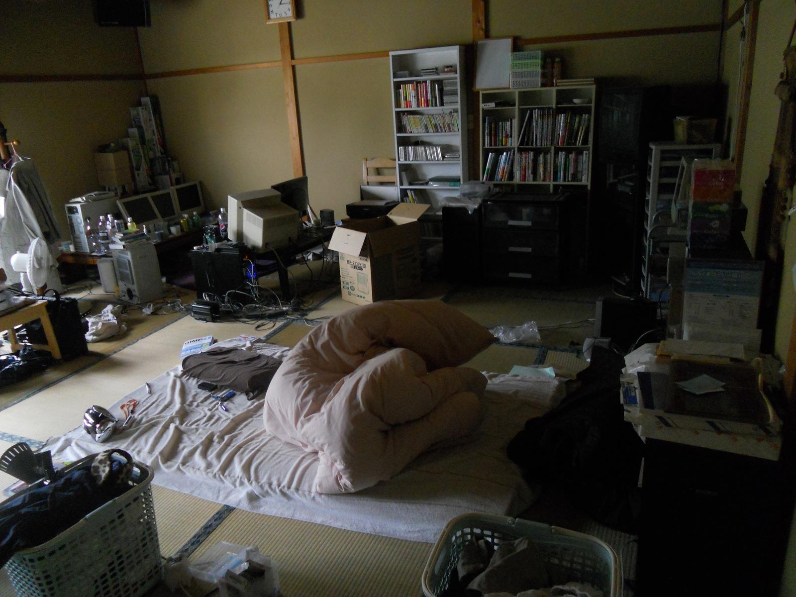 GW6日目:11.05.04:部屋の掃除!