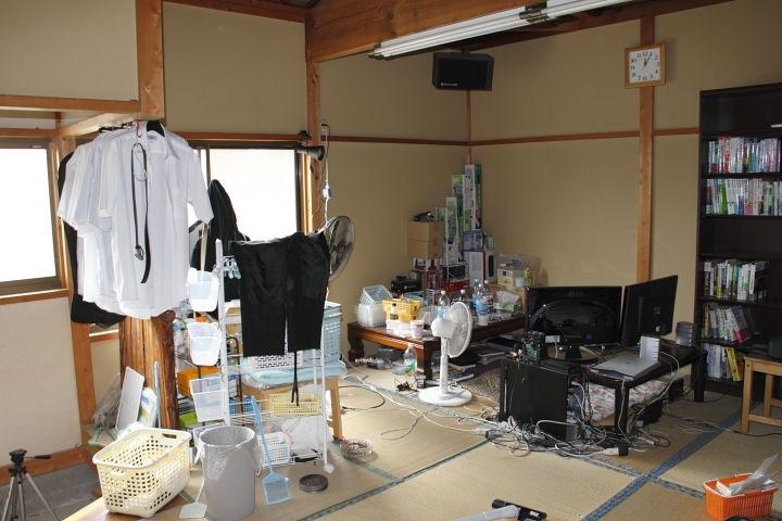 部屋の掃除:11.09.17
