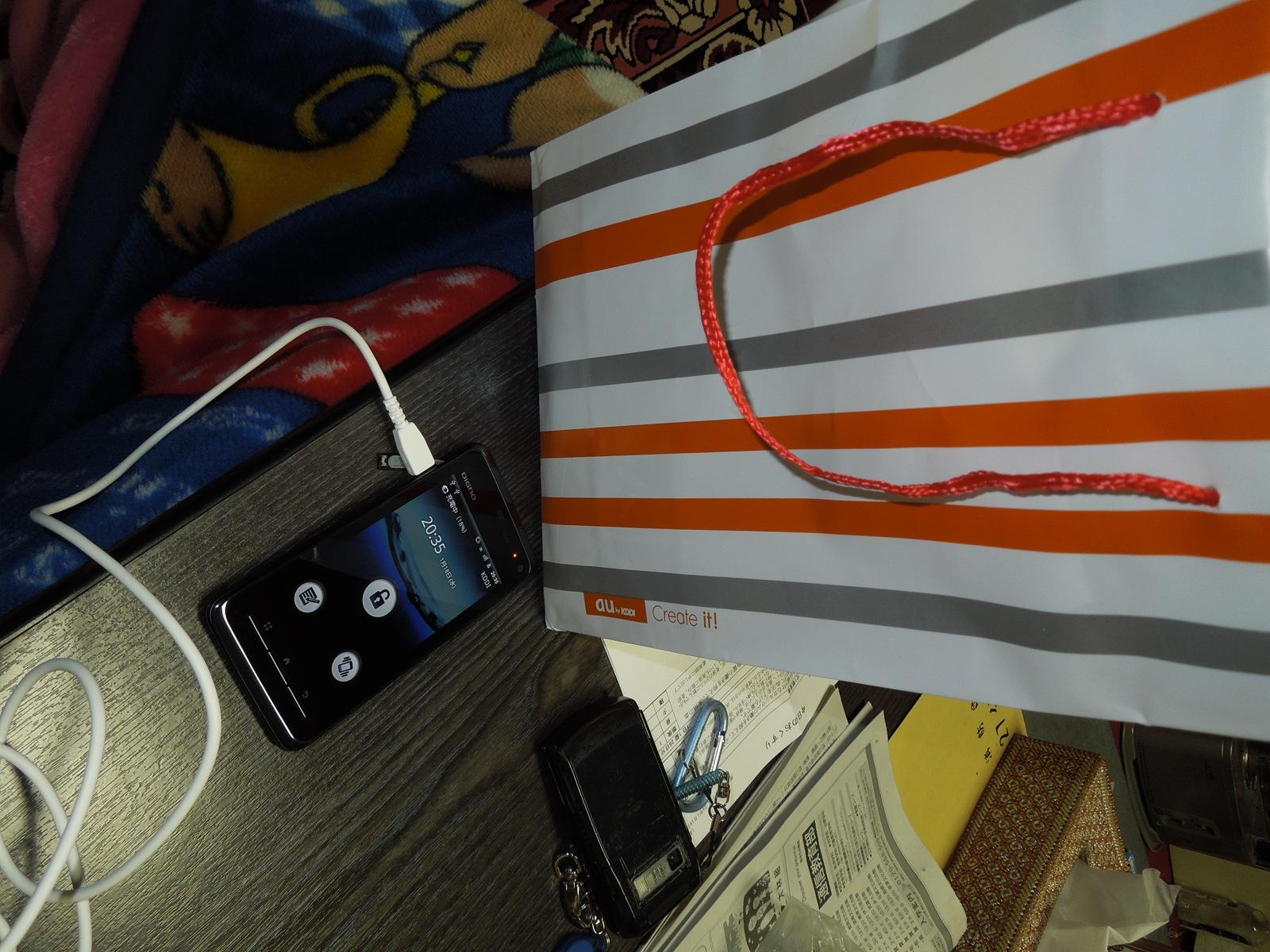 遂にスマートフォン購入!:DIGNO ISW11K