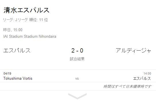 リーグホーム戦初勝利で連勝!