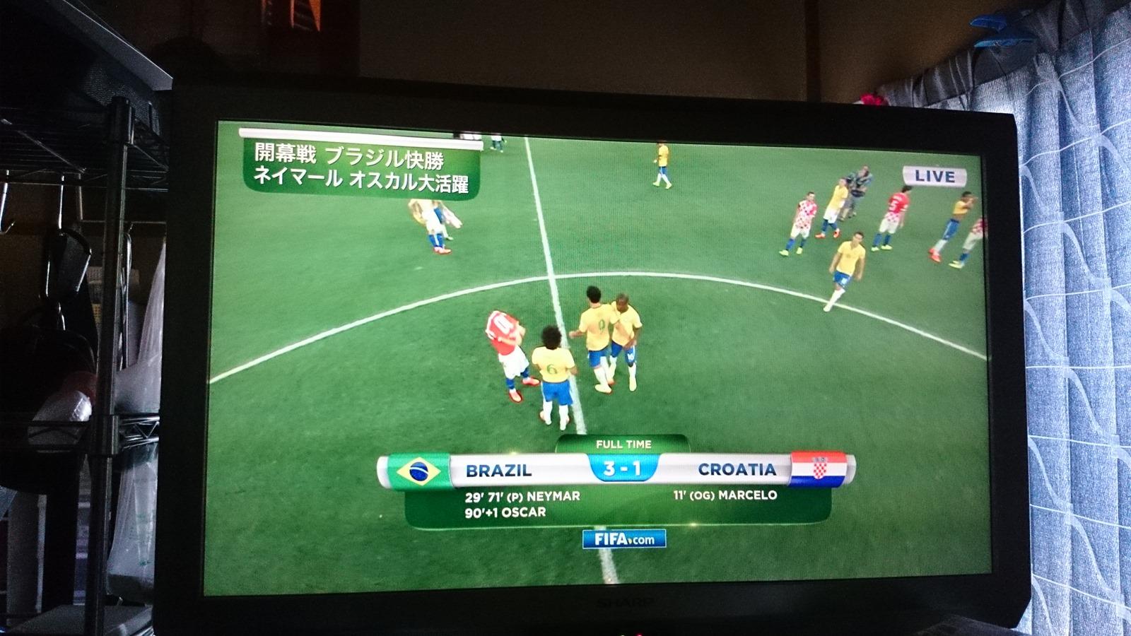 FIFAワールドカップ 2014ブラジル開幕!